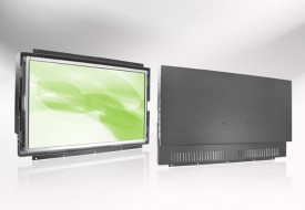 Ecran LCD industriel Wide intégrable par l'arrière