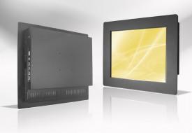 Ecran LCD industriel 4/3 intégrable par l'avant, OSD arrière