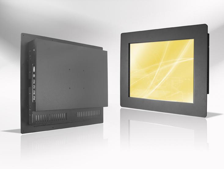 Ecran LCD industriel 19″ intégrable par l'avant