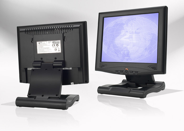 Ecran LCD industriel 10,4″ 4/3 non tactile en boitier de table