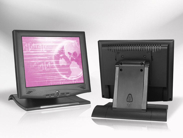 Ecran LCD industriel 10,4″ 4/3 tactile en boitier de table