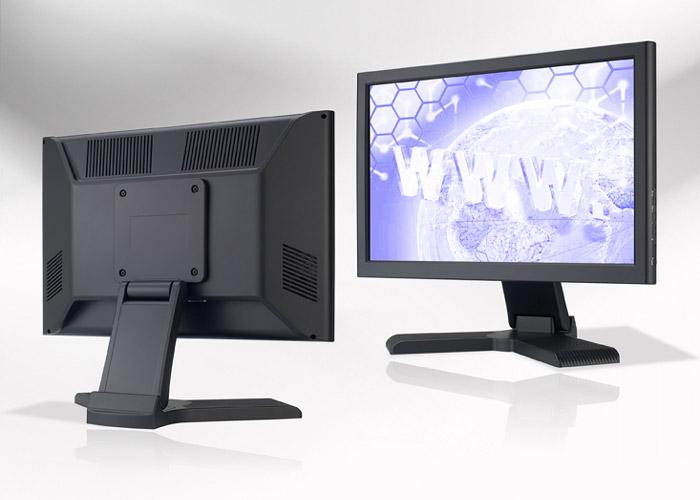 Ecran LCD industriel 17″ Wide non tactile en boitier de table