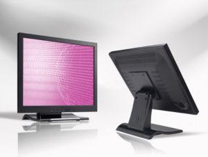 Ecran LCD industriel 4/3 tactile en boitier de table