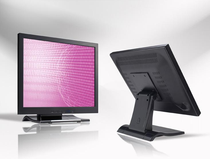 Ecran LCD industriel 19″ 4/3 tactile en boitier de table