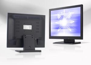 Ecran LCD industriel 4/3 non tactile en boitier de table