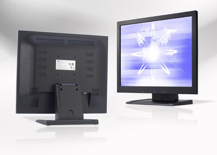 Ecran LCD industriel 19″ 4/3 non tactile en boitier de table