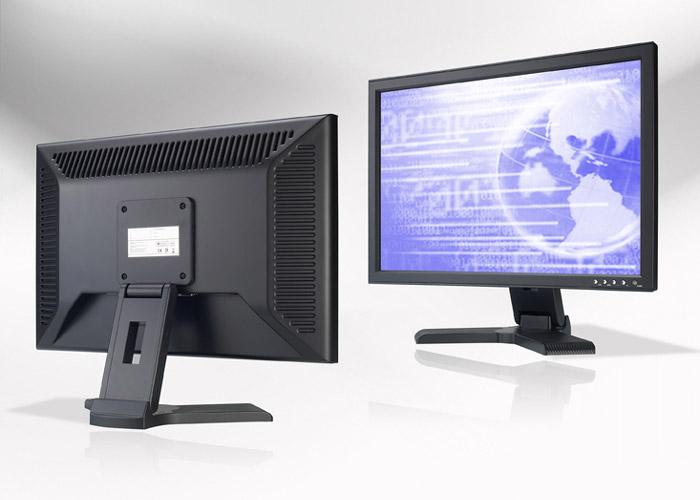 Ecran LCD industriel 19″ Wide non tactile en boitier de table