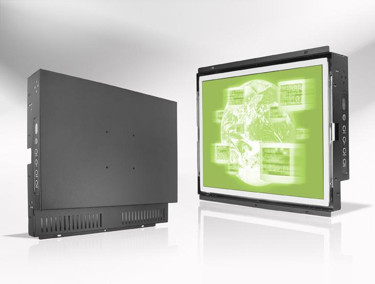 Ecran LCD industriel 15″ intégrable par l'arrière