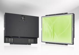 Ecran LCD industriel 4/3 intégrable par l'arrière