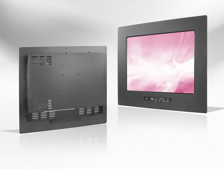 Ecran LCD industriel 8,4″ intégrable par l'avant, OSD avant