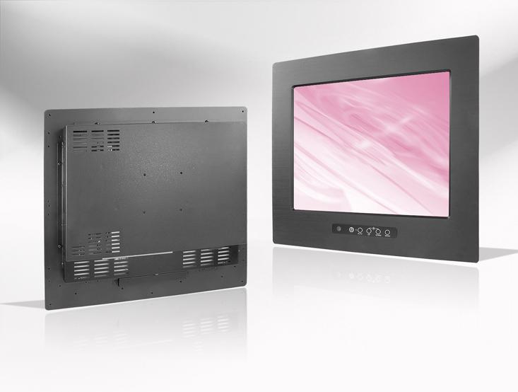 Ecran LCD industriel 10,1″ intégrable par l'avant, OSD avant