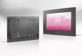 Ecran LCD industriel Wide intégrable par l'avant, OSD avant