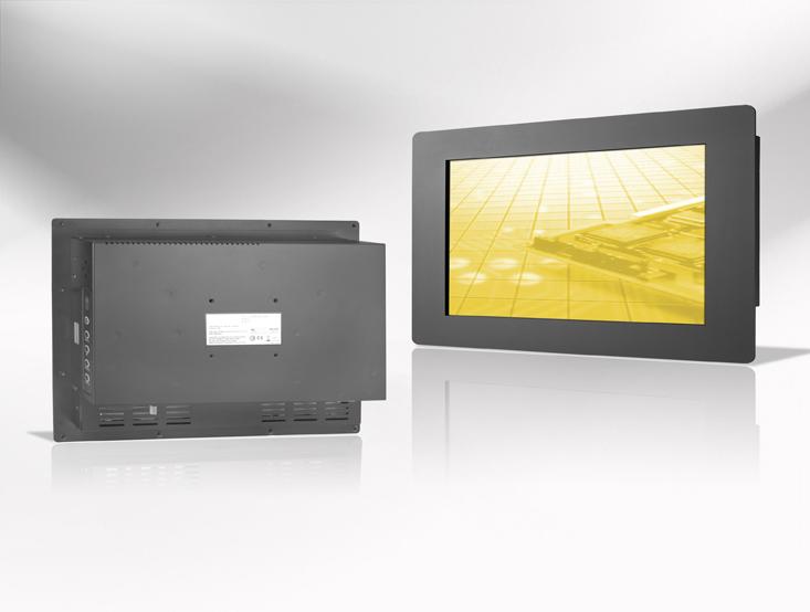 Ecran LCD industriel 32″ intégrable par l'avant, OSD arrière