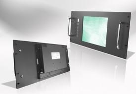 Ecran LCD industriel Wide intégrable en rack 19