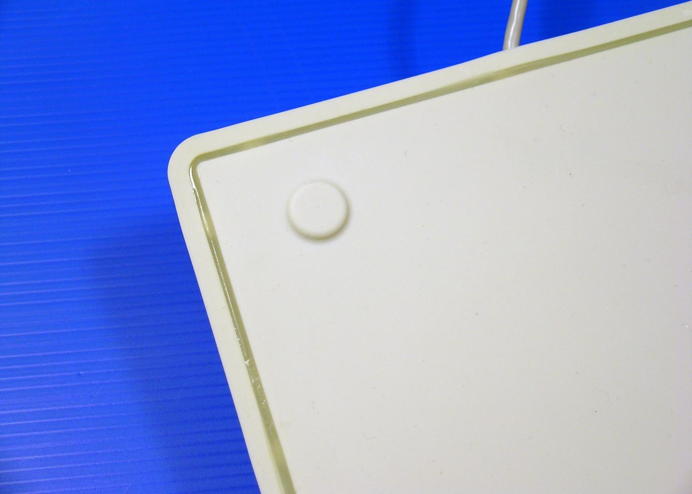 Clavier lavable 105 touches étanche IP68 avec vernis antimicrobien – Joint d'étanchéité