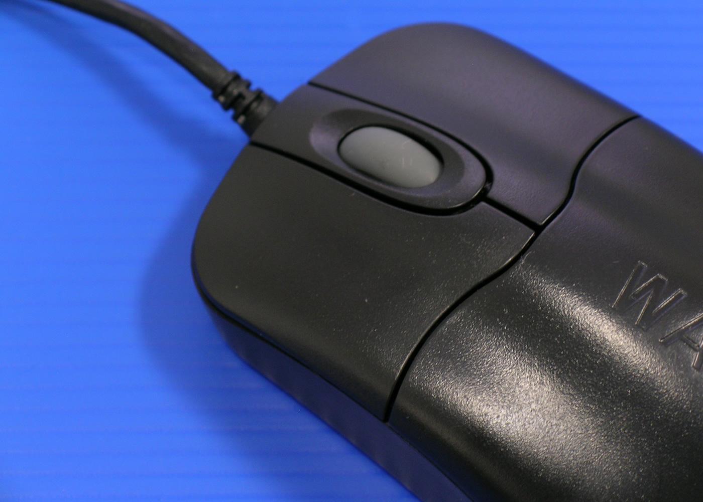 Souris médicale optique nettoyable noire antibactérienne