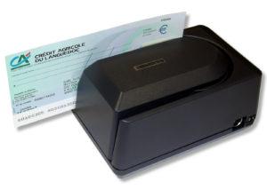 Lecteur de chèque piste CMC7