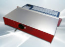 Clavier industriel 105 touches avec trackball 38mm 2U en tiroir 19″ – Sortie cordon
