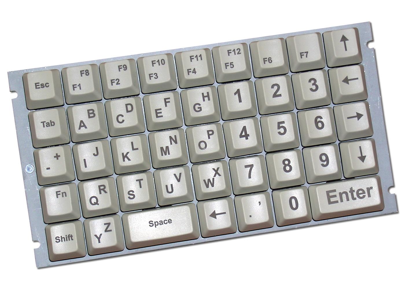 Clavier industriel 43 touches OEM