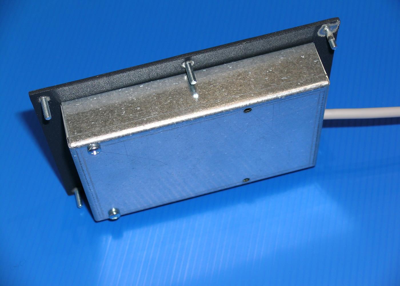 Trackball 38mm industrielle intégrable en panneau par l'avant – Vue arrière