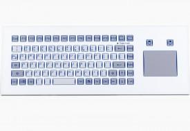 Clavier 85 touches intégrable en panneau par l'avant avec touchpad