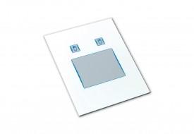 Touchpad industriel 2 boutons microswitchs intégrable par l'avant