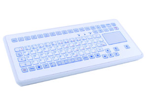 Clavier étanche 88 touches en boitier de table avec touchpad