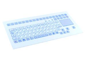 Clavier 88 touches intégrable en panneau par l'avant avec touchpad
