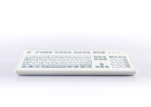 Clavier étanche 105 touches en boitier de table