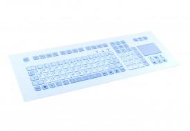 Clavier 105 touches intégrable en panneau par l'avant avec touchpad