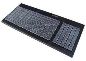 Clavier semi-industriel 147 touches programmable en boitier de table