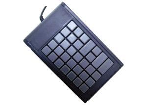 Clavier semi-industriel 35 touches programmable en boitier de table