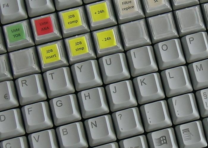 100% compatible avec la technologie de touches NICONIX – Tout marquage possible sur demande