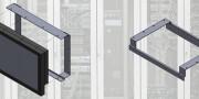 """Montage en rack 19"""" d'un écran industriel 21,5"""""""