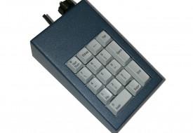 Clavier industriel 17 touches en boitier de table avec hub USB intégré