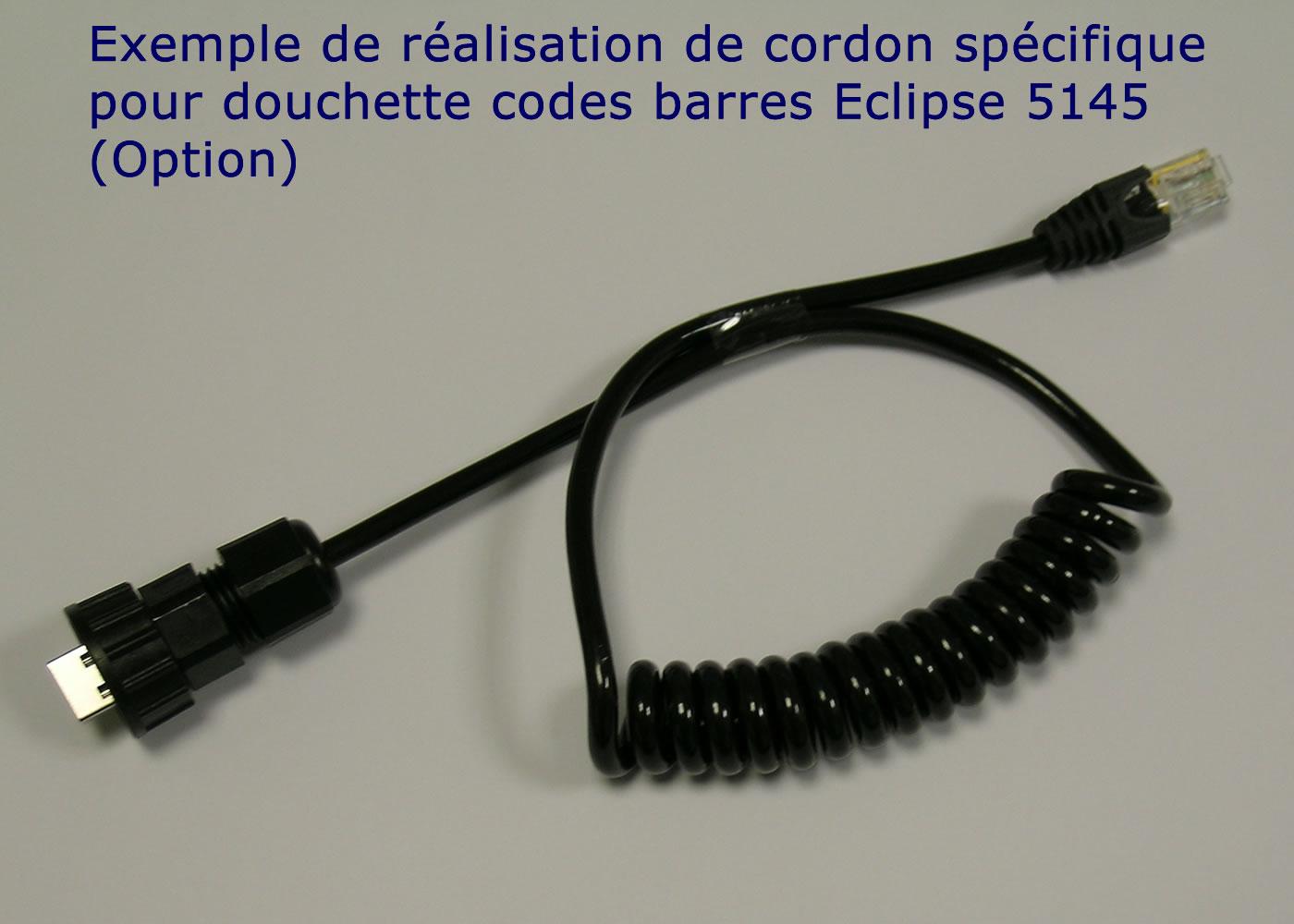 Clavier industriel 17 touches en boitier de table avec hub USB intégré – Cordon verrouillable sur mesure