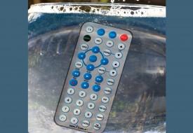 Télécommande universelle lavable pour application médicale