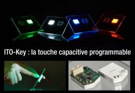 ITO-Key : Boutons poussoirs et interrupteurs capacitifs