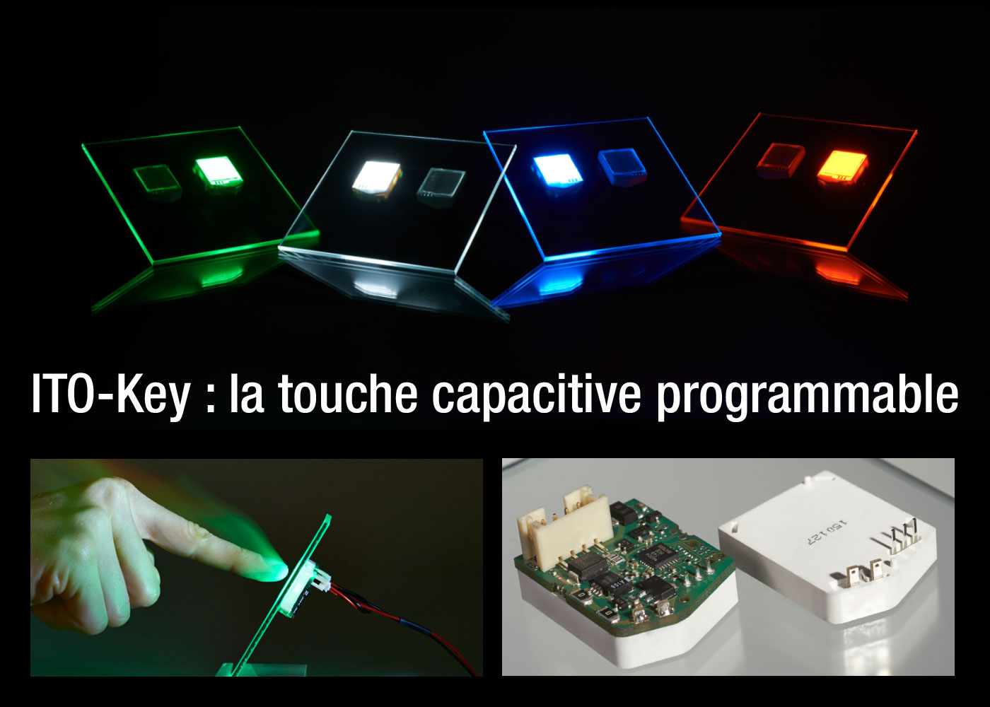 ITO-Key : touche tactile capacitive programmable