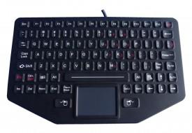 Clavier industriel 89 touches compact en version OEM avec souris tactile