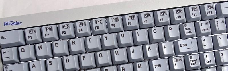 Le clavier NX5600 proposé avec touches F1 à F24