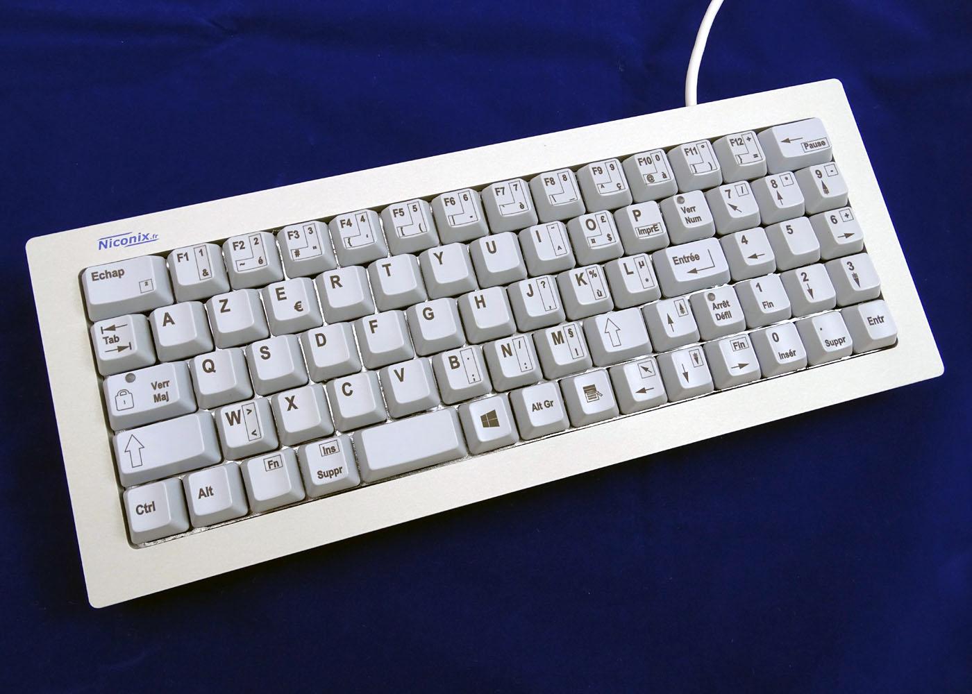 Clavier NX5600 – Vue d'ensemble
