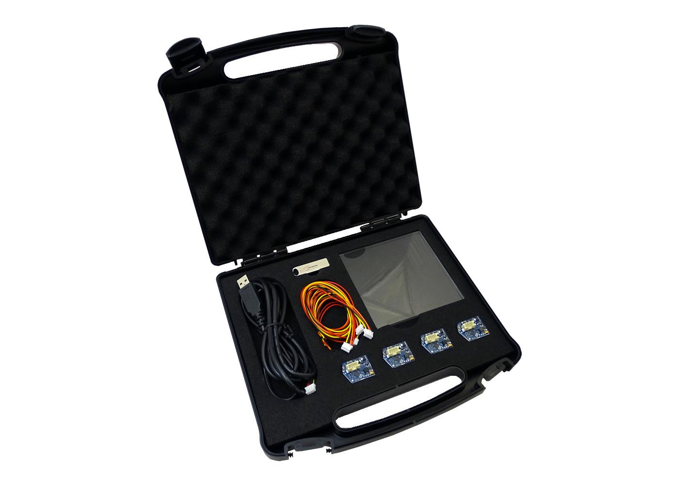 Kit d'évaluation touches capacitives ITO-Keys – Contenu