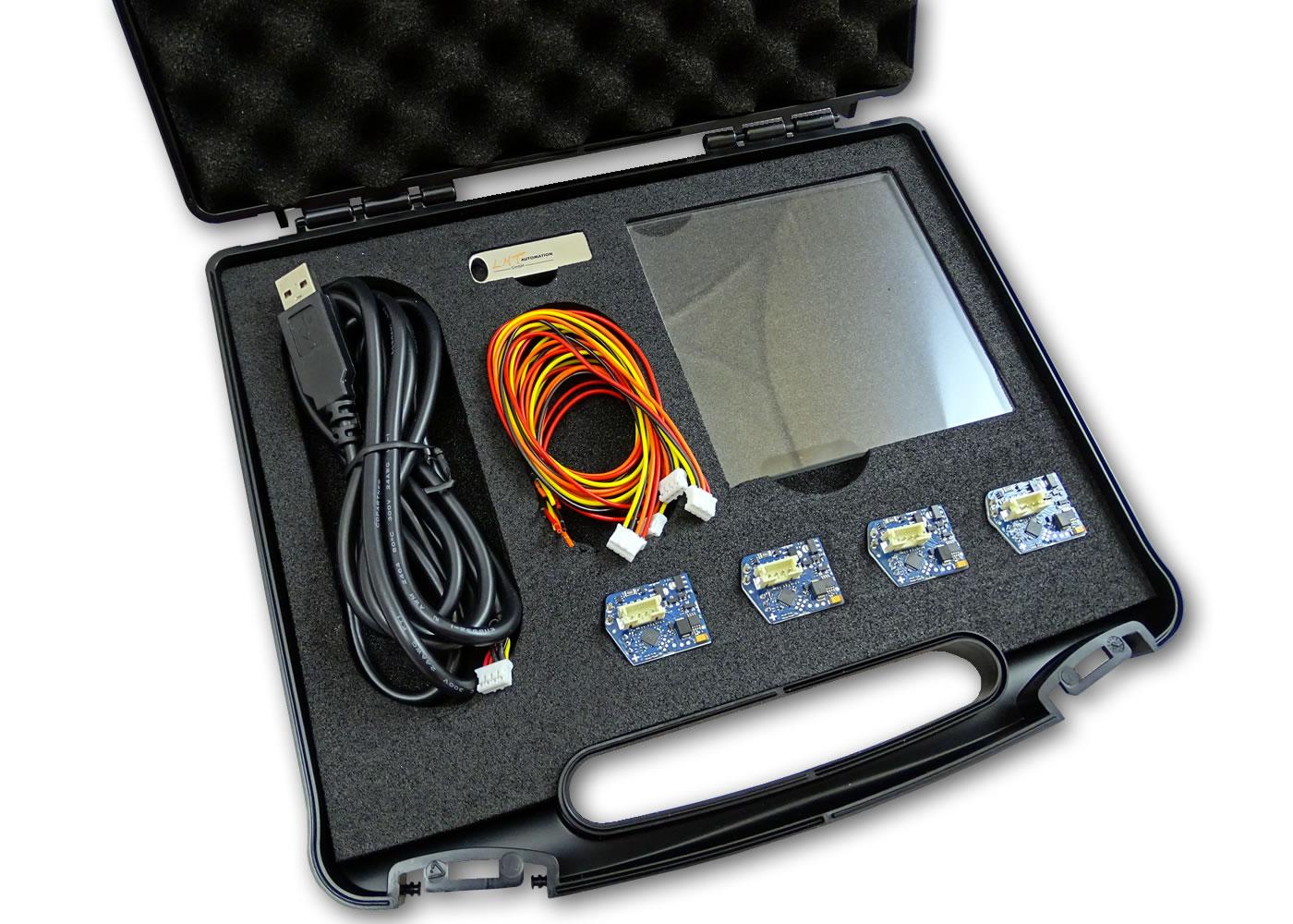 Kit d'évaluation touches capacitives ITO-Keys – Contenu détaillé