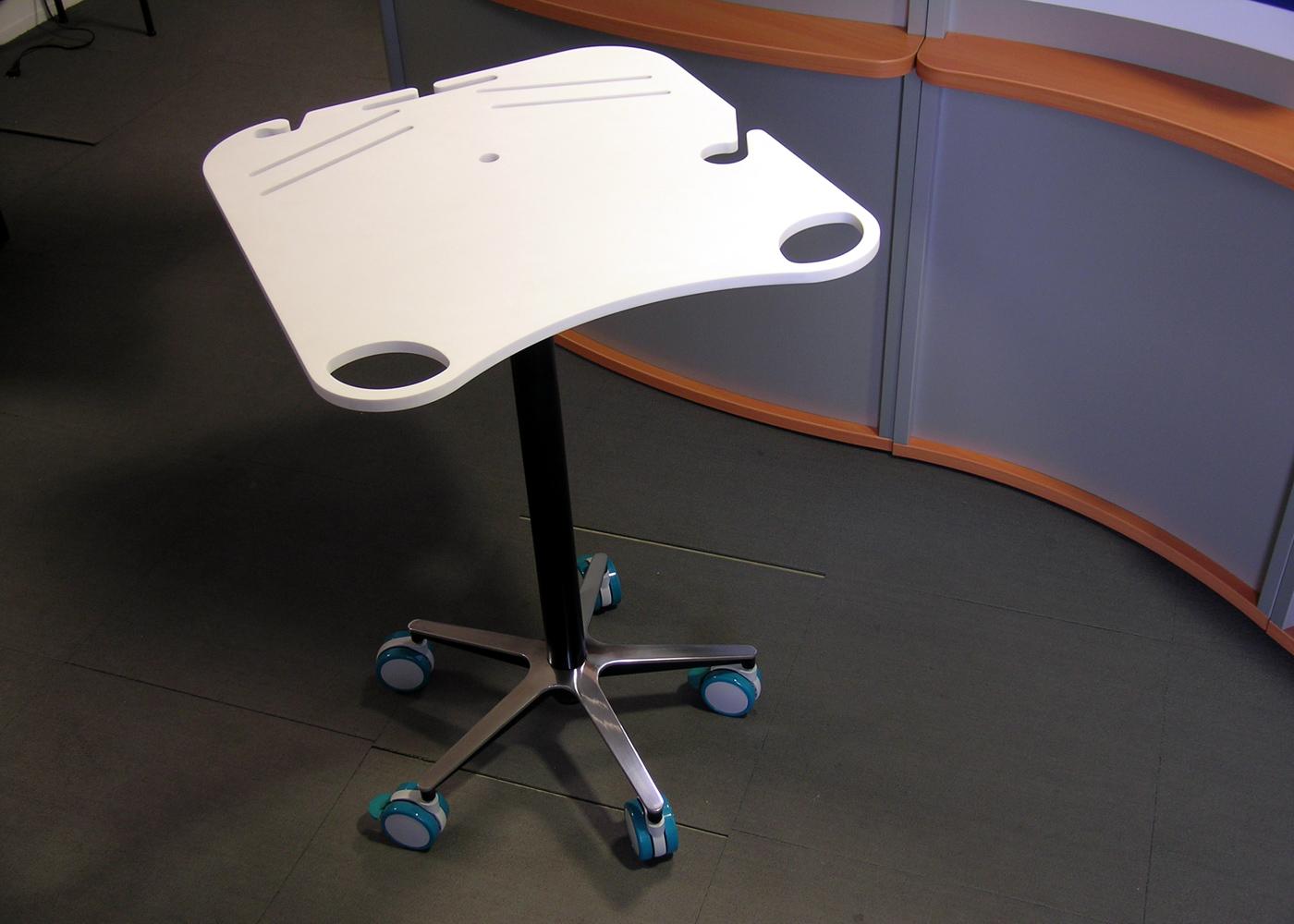 Chariot médical NX557-01 – Vue d'ensemble