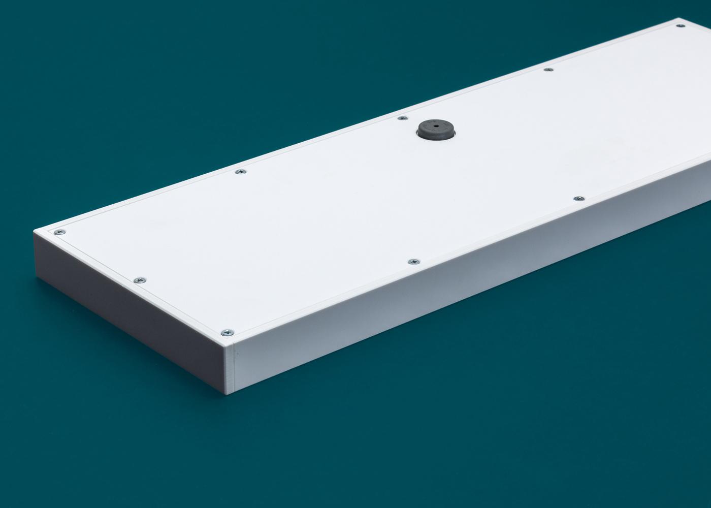 TKR-103 – Clavier verre capacitif intégrable en panneau – Détail carter arrière en option