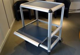 Chariot logistique structure aluminium