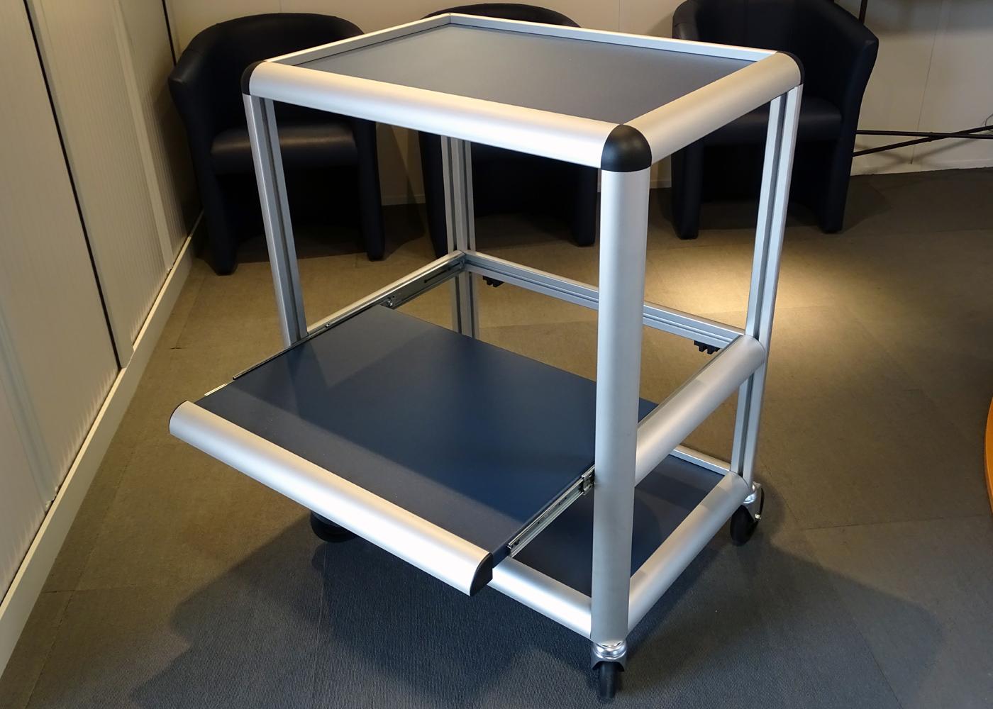 Chariot logistique NX557-04 – Chariot logistique ultra léger 30 Kg en aluminium