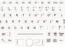 Clavier durci M276HP-FN-OEM-BL-ML-EMC – Layout AZERTY