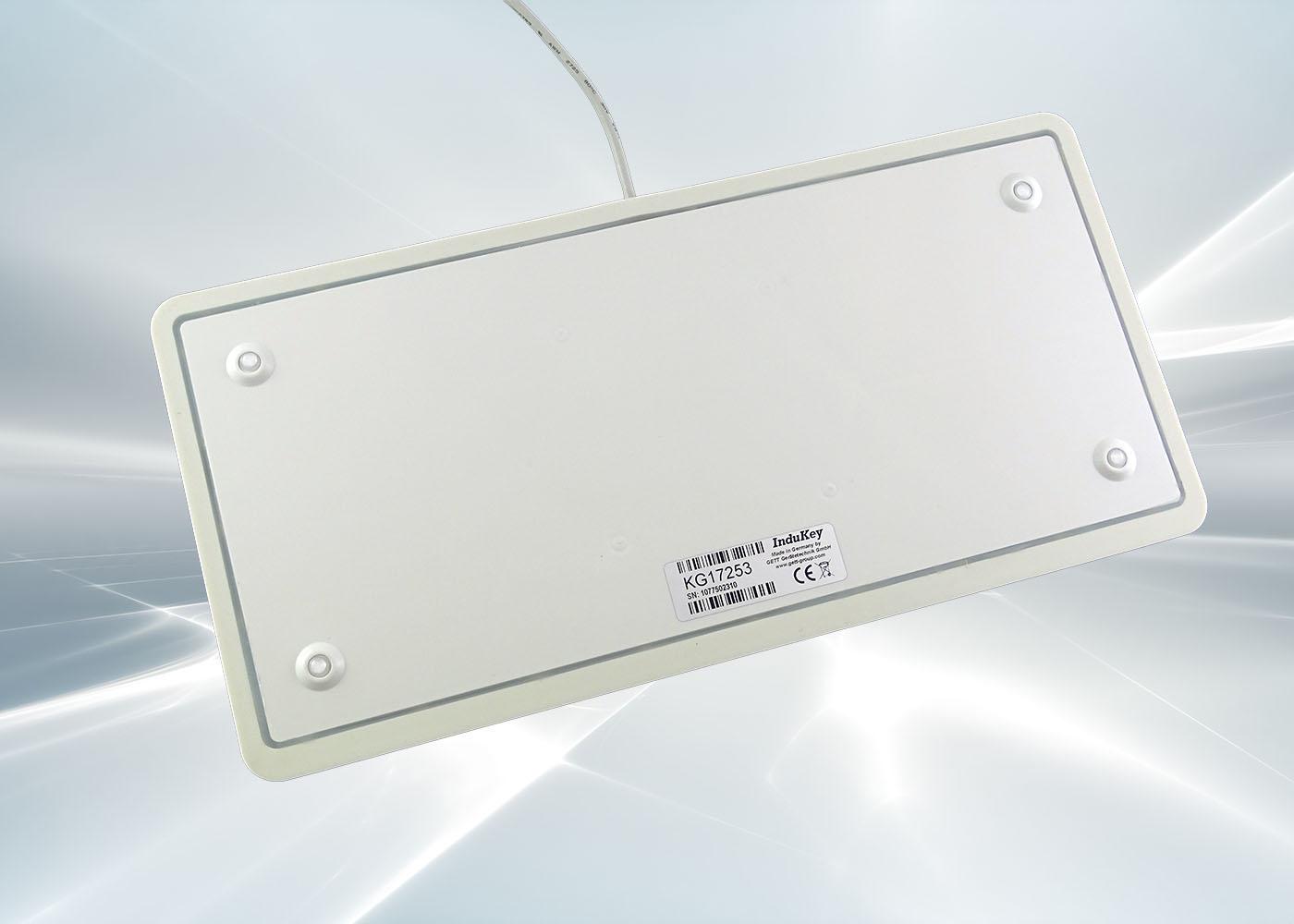 Clavier silicone lavable avec souris mouse button – Arrière